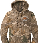 Pullover: Back Woods Pullover Hoodie Realtree Camo